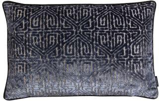 Kissen - Maze - Dark Blue - 60 x 40