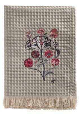 Plaid by Olaf Hajek - Crazy Flowers - Fb. 10 - 130 x 200