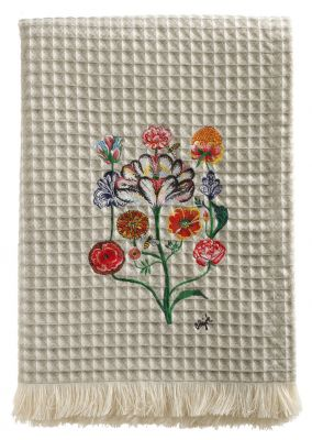 Plaid by Olaf Hajek - Crazy Flowers - Fb. 20 - 130 x 200