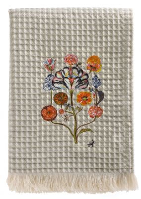 Plaid by Olaf Hajek - Crazy Flowers - Fb. 40 - 130 x 200