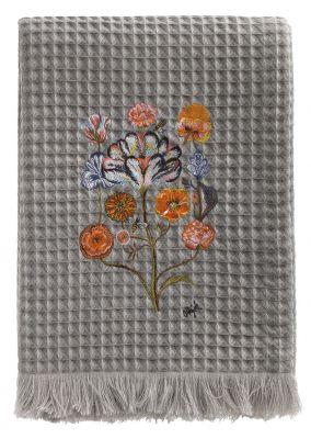 Plaid by Olaf Hajek - Crazy Flowers - Fb. 41 - 130 x 200